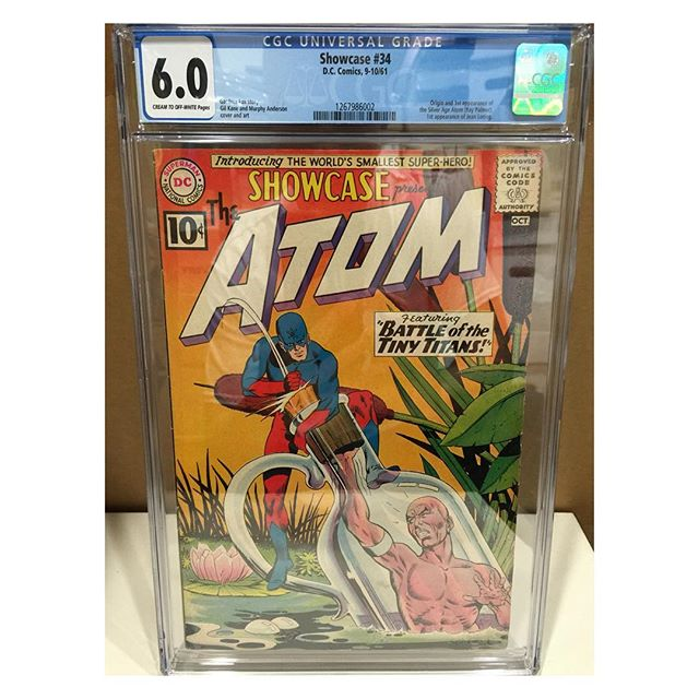 Just in from #cgc #showcase34 1st Atom #dcshowcase