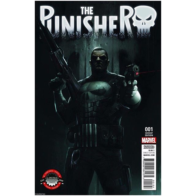 Our latest giveaway is #punisher Limited Edition Comix Variant #1 with exclusive cover by Francesco Mattina!  Just like our Facebook page: legacy comics and cards and share the Facebook post for your chance to win!  1 winner will be selected in 5/18. Make sure to comment on the Facebook post that you liked and shared to win.  #francescomattina