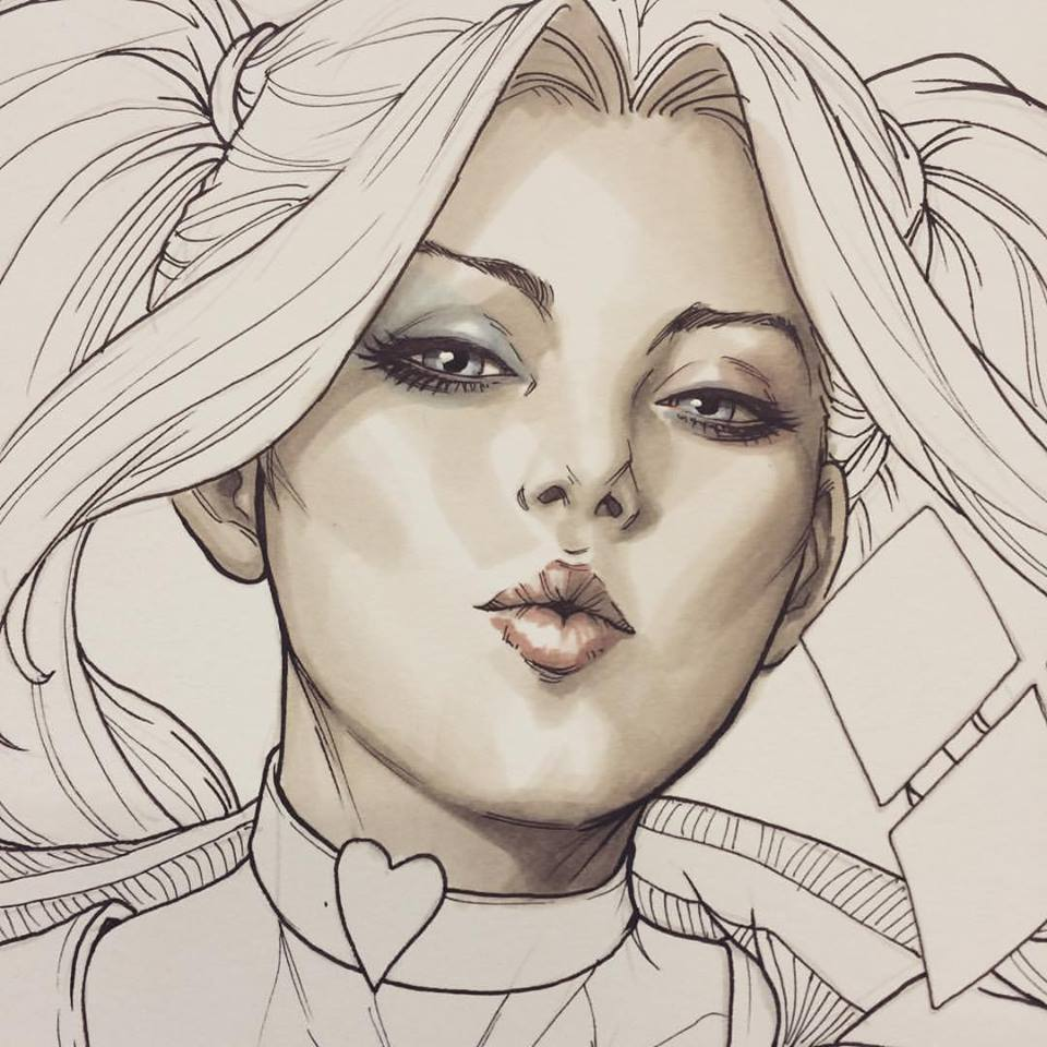Harley Quinn #1 Legacy Edition Copic Sketch Exclusive by ...