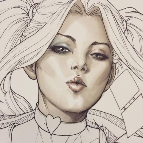 Harley Quinn 1 copic