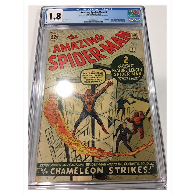 Just in from #cgc #amazingspiderman #1 #spiderman #igcomics #igcomicfamily #spidey #peterparker