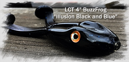 LCT 4.0 BuzzFrog Illusion Black and Blue 450x218