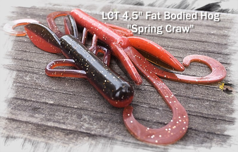 LCT 4.5 Fat Bodied Hog Spring Craw 2983x1907