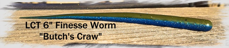 LCT 6.0 Finesse Worm Butchs Craw 3264x697