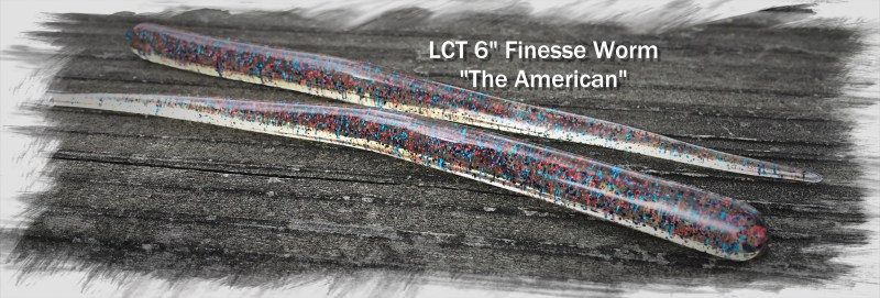 LT 6.0 Finesse Worm The American 3264x1106