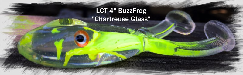 LCT 4.0 BuzzFrog Chartreuse Glass 3111x967