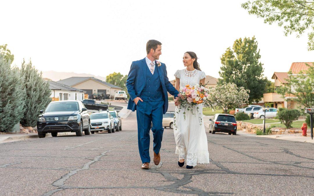 Front Yard Pandemic Wedding