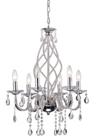glass elegant chandelier lighting