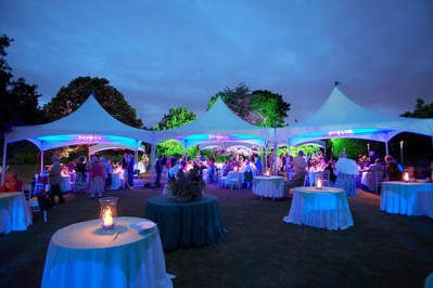 Tent Uplighting