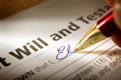 Top tips when checking a will