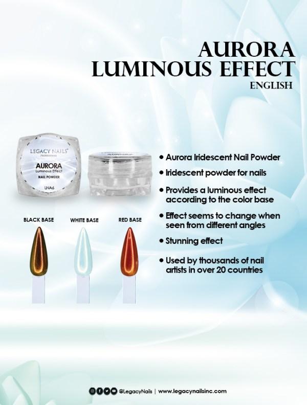 aurora luminous effect eng