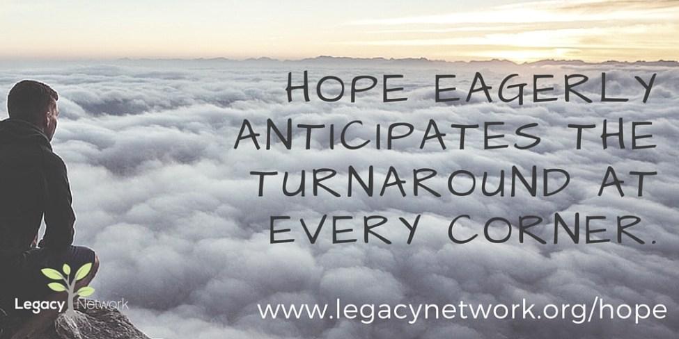 Hope awaits the turnaround
