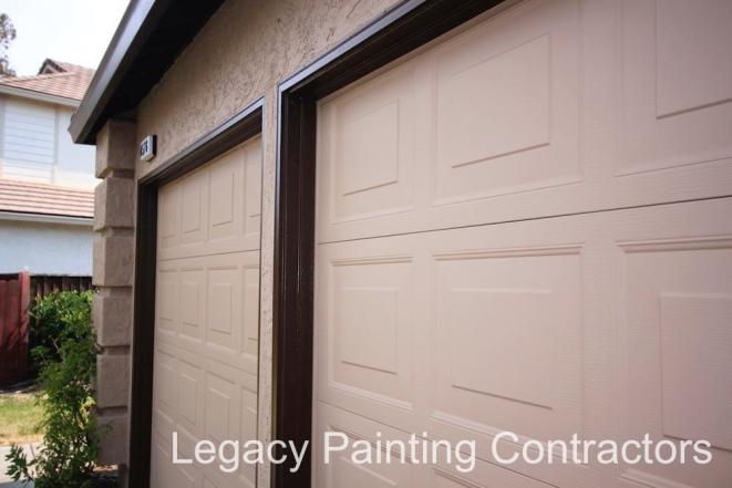 Detailed Garage Door
