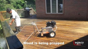 deck pressure wash and stain 2