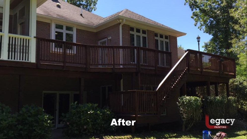 Deck Pressure Wash And Stain 4