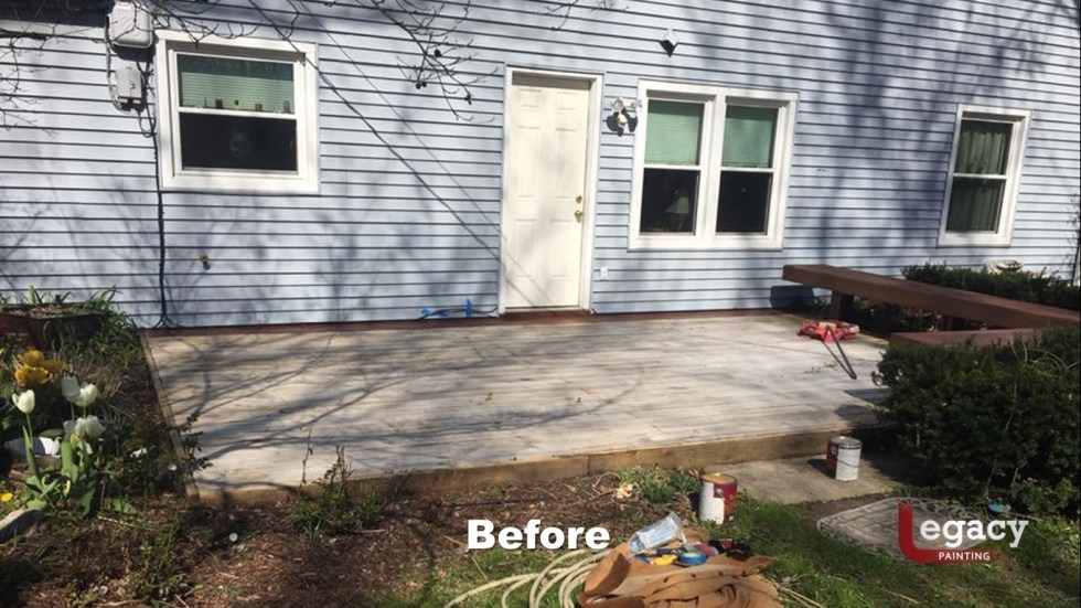 Low Deck Staining Indianapolis