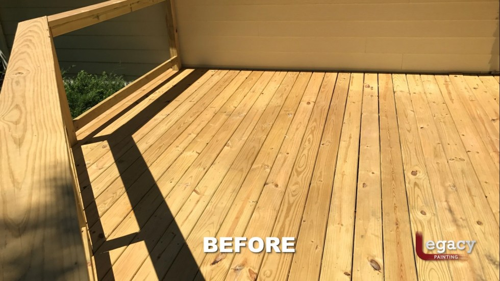 Carmel New Deck Staining - Teak 2