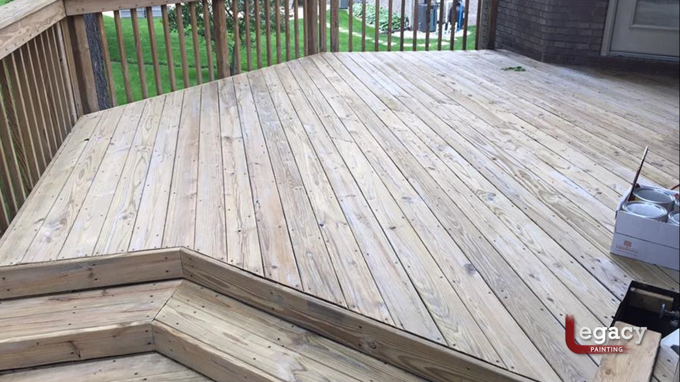 Remove Mill Glaze New Decking
