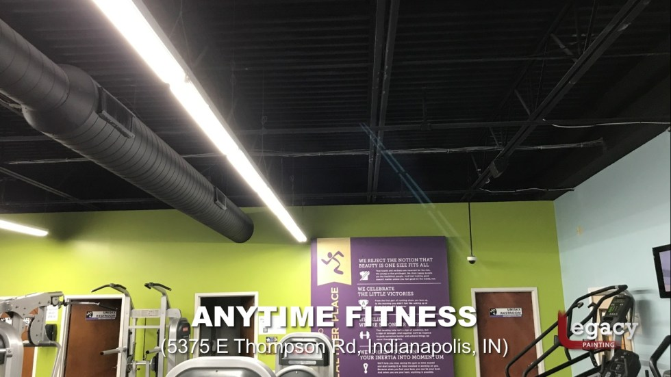 Commercial Painting Services - Anytime Fitness Indianapolis 2