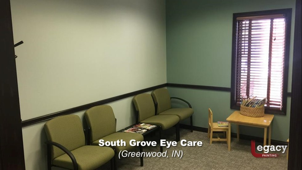 Eye Doctor - Commercial Interior Painting - Greenwood Indiana 4