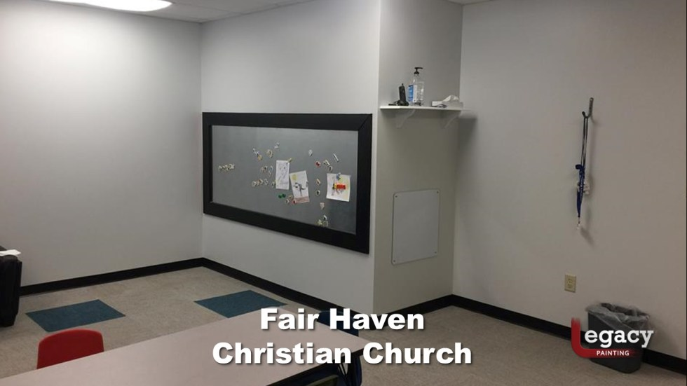 Interior Commercial Painting - Fair Haven Church 7