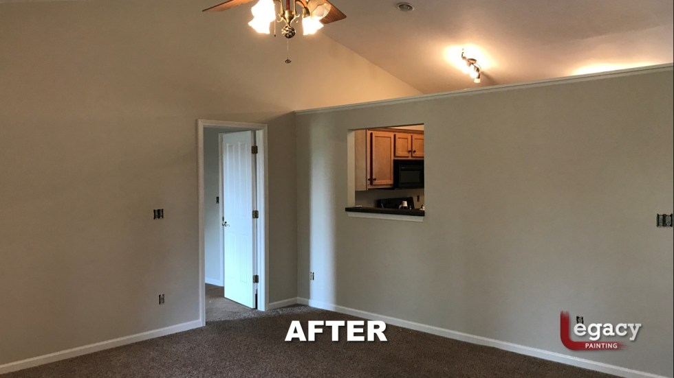 Home Interior Painting - After 4 - Franklin Indiana