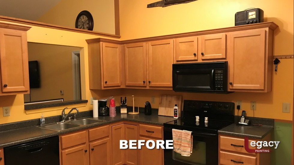 Home Interior Painting - Before 3 - Franklin Indiana