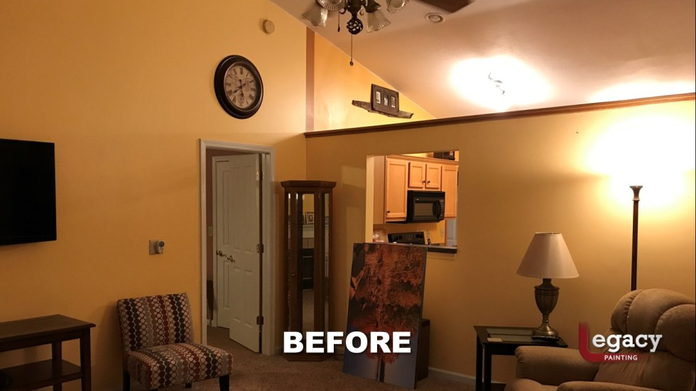 Home Interior Painting - Before 5 - Franklin Indiana