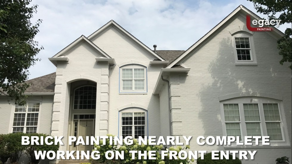 Professional Brick House Painters 12 - Carmel Indiana