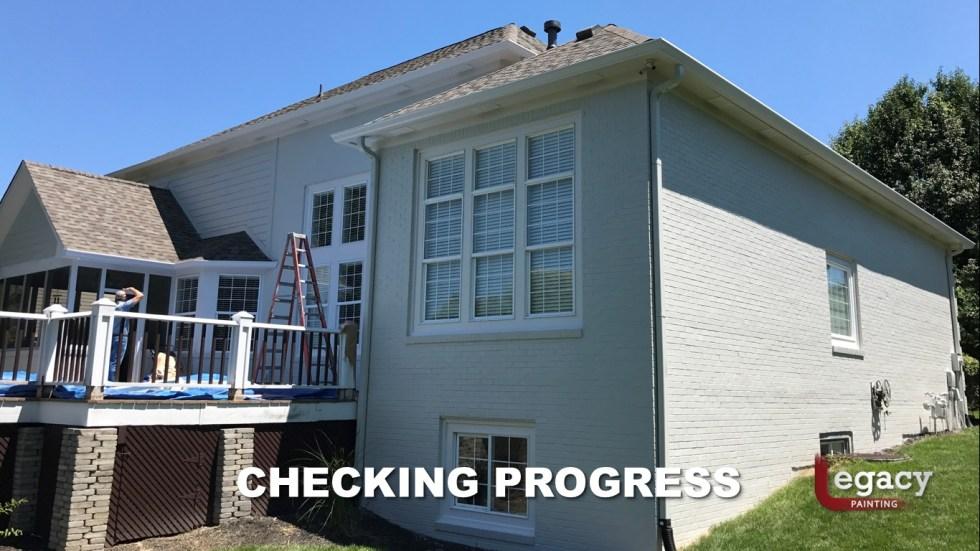 Professional Brick House Painters 9 - Carmel Indiana