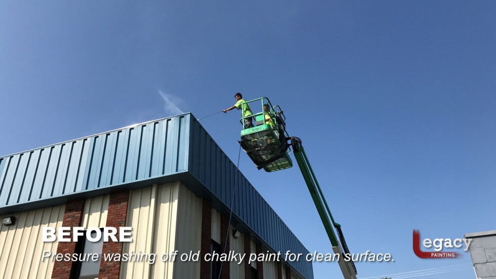 Bargersville Commercial Painting Slide4