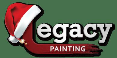 legacy painting christmas logo