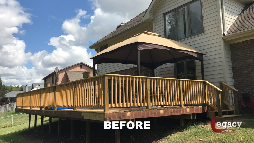 Plainfield Deck Staining - Butternut - Slide3