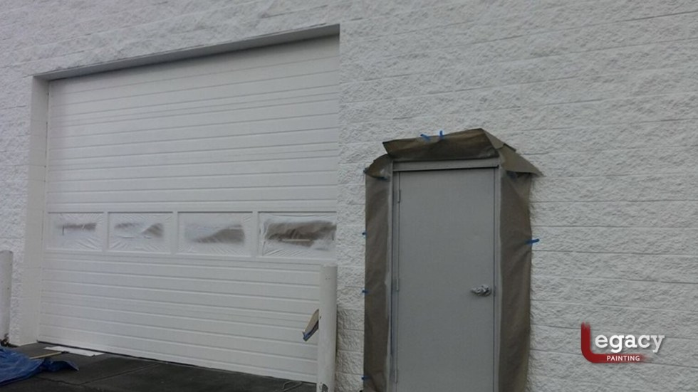 Commercial Painting - Muncie Toyota 5