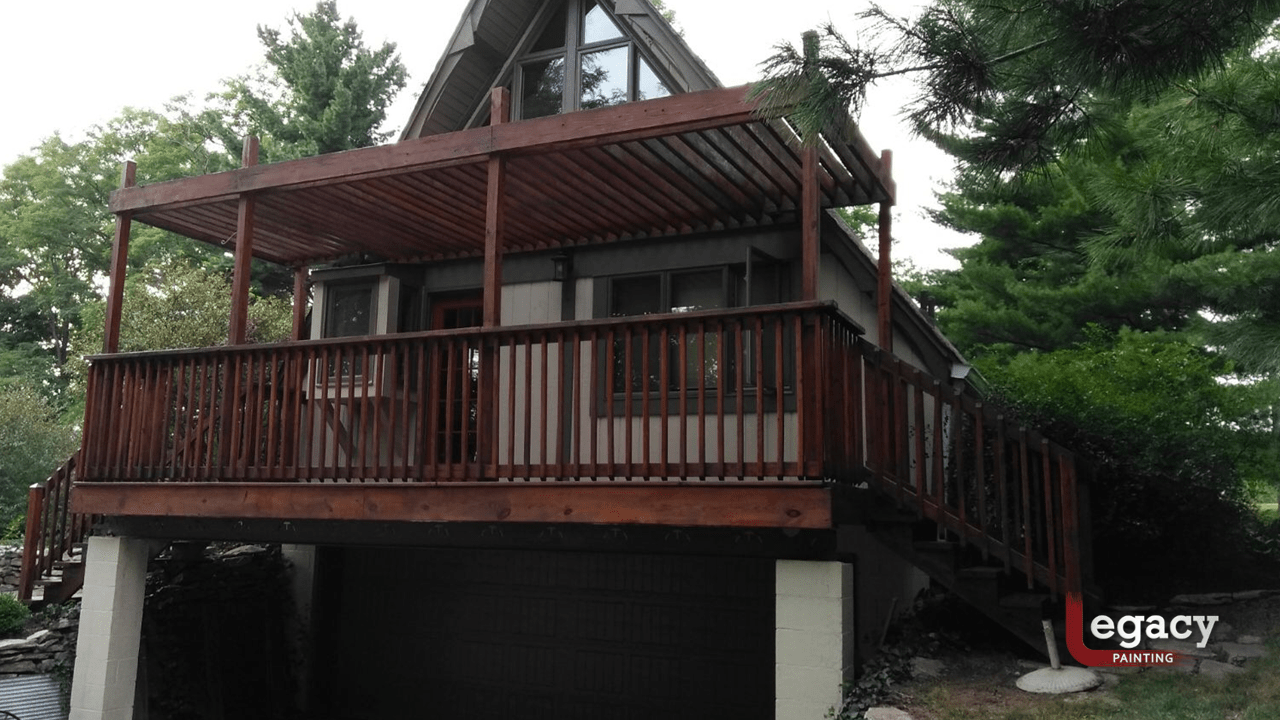 deck staining and house painting