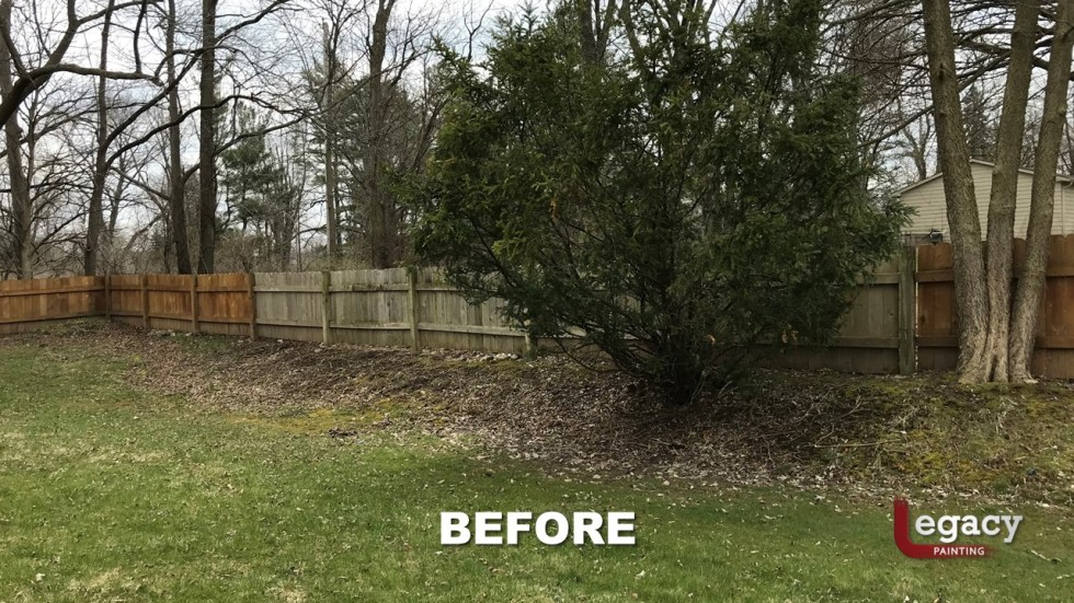 Fence Staining - Proluxe Chestnut Brown Solid Stain - Fishers In 10