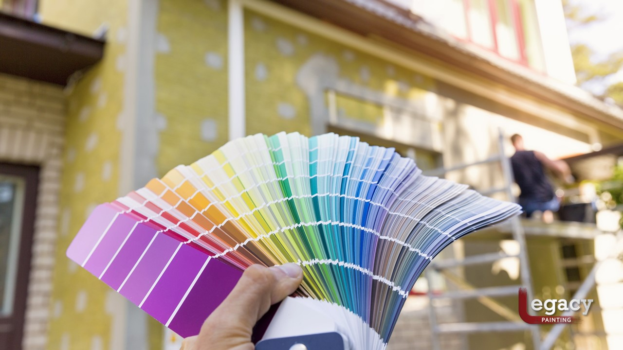 Selecting Your Home Exterior Painting Color Legacy Painting - Painting-home-exterior