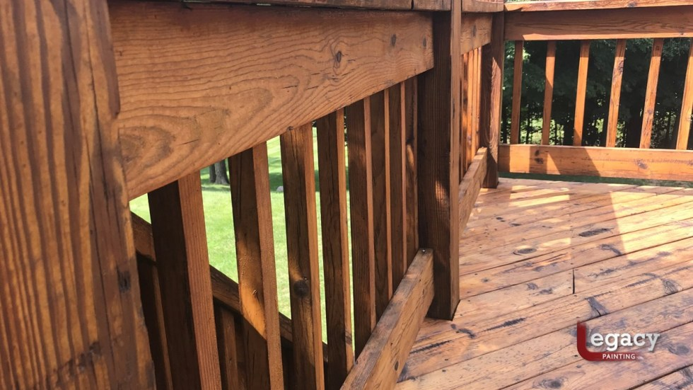 30 Yr Old Deck Restoration