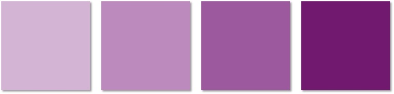 interior painting - purples
