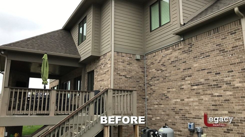 Exterior Brick Painting Carmel In