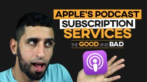 apple podcast subscription service
