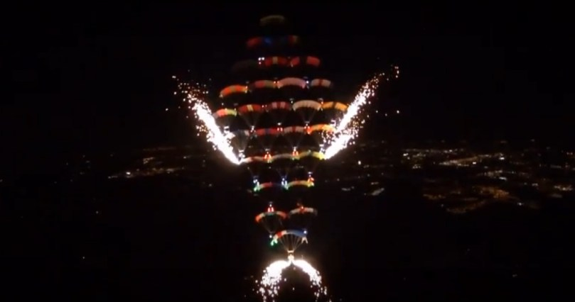 CRW jumpers set a night-formation world record Feb. 11 at Florida Skydiving Center in Lake Wales.   https://blueskiesmag.com/2017/02/16/canopy-formation-aka-crw-world-record
