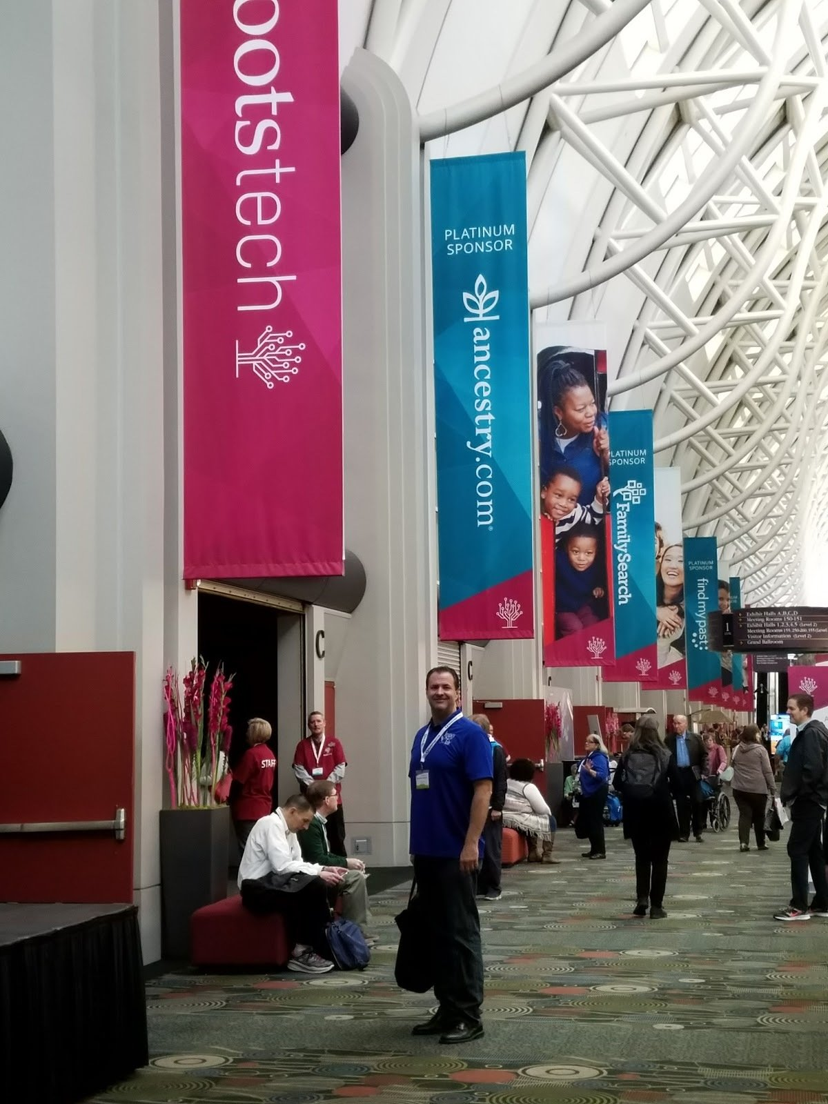 Main hallway at RootsTech