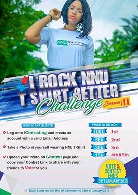 I Rock NNU T shirt Better
