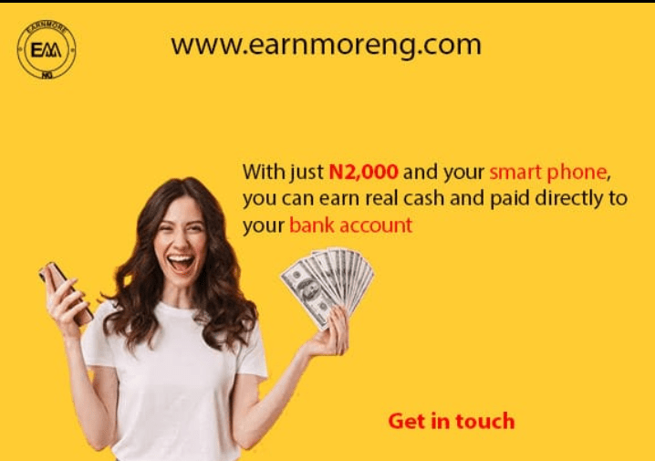 EarnMoreNG Income Program Review