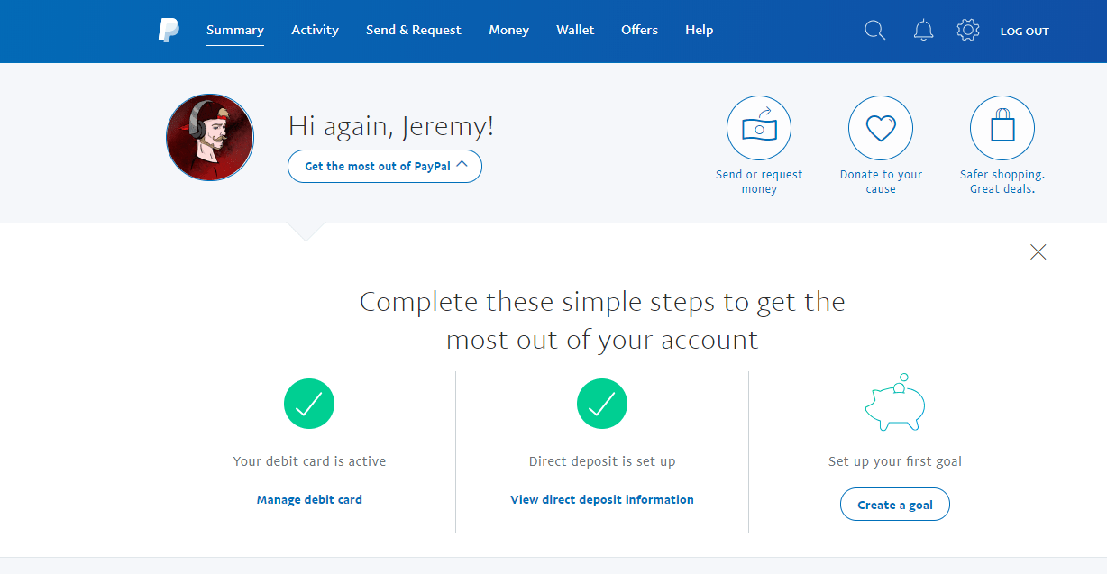 How to find Your Account Number on PayPal
