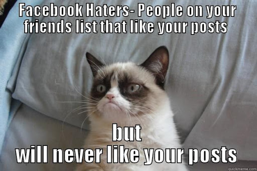 friends who never like your posts