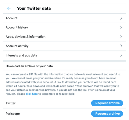 How to Retrieve deleted tweets on Twitter