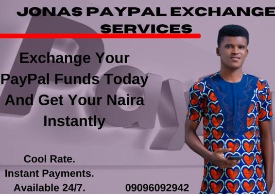 Jonas Samuel PayPal Exchange