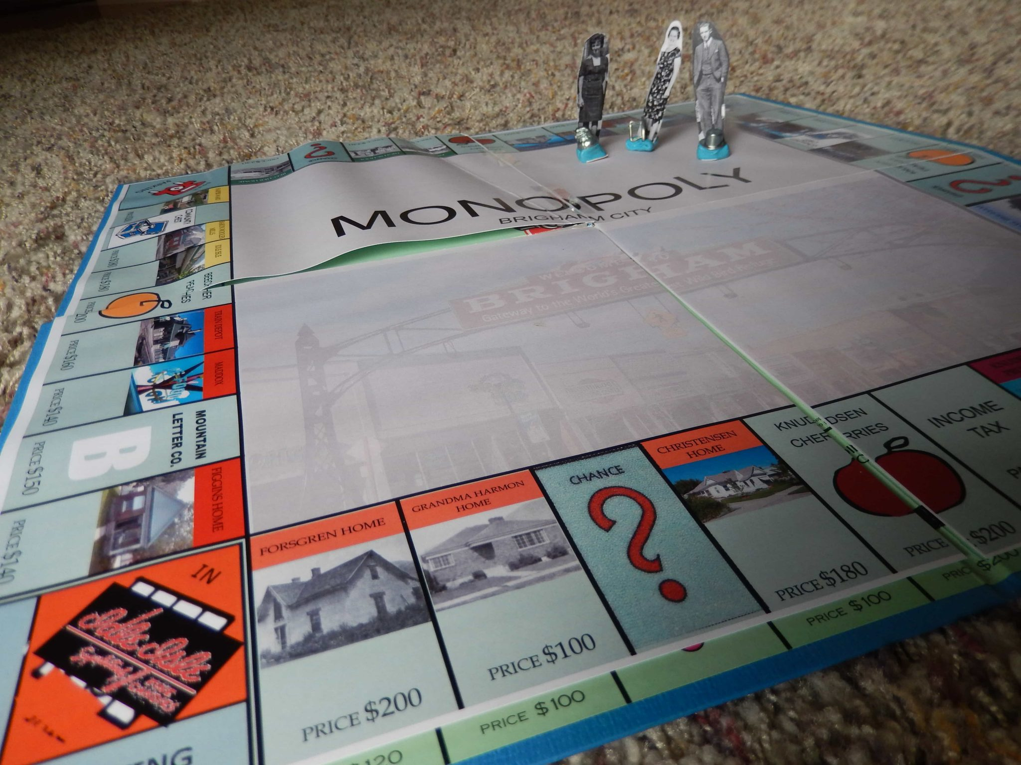 8 ways to celebrate Family History Month | Ancestral Monopoly created by Legacy Tree Genealogists